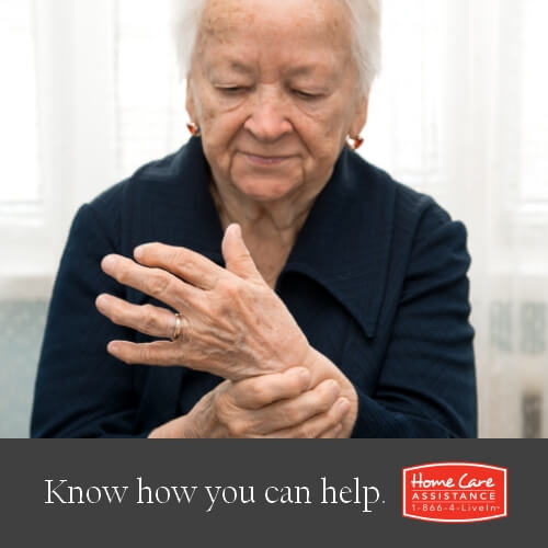 Older Woman with Numbness in Hands