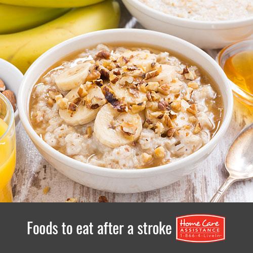 Post-Stroke Nutritional Guidelines
