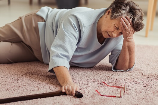 Is Falling a Symptom of Dementia in Aging Adults in Tampa Bay, FL